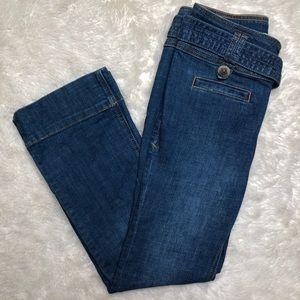 Anthropologie Pilcro Jeans Wide Leg Size 24 Petite